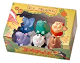 Dora path animal marker 6 color set wildlife JB-06 22031 (japan import)