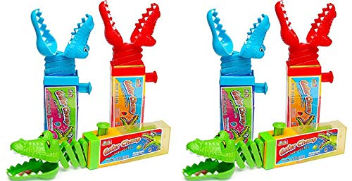 Gator Chomp Candy 0.60-Ounce Lollipop 6 Count (6 Gator Chomp Lollipops)]()