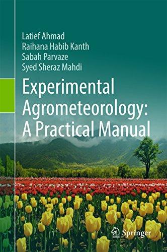- Experimental Agrometeorology: A Practical Manual