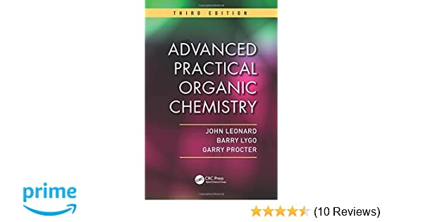 Advanced Practical Organic Chemistry 9781439860977 Medicine Health Science Books Amazon