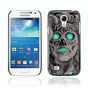 Designer Depo Hard Protection Case for Samsung Galaxy S4 Mini / Vintage Neon Skull