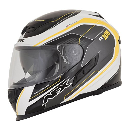 AFX FX-105 Helmet - Thunder Chief (XX-LARGE) (YELLOW) ()