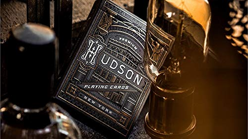 MTS Black Hudson Playing Cards by theory11