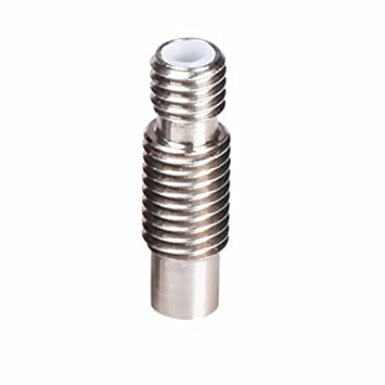 Piezas de la impresora 3D E3d V6 Boquillas de acero inoxidable Garganta, Metal / Tubo de teflón / Diámetro para extrusor de 3 mm Hot End (3 mm Teflon)