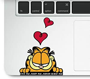 Cute Cat Laptop Trackpad Decal Sticker