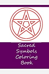 Sacred Symbols Coloring Book Paperback