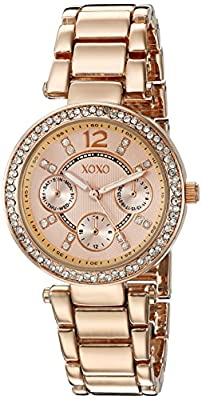 XOXO Women's Quartz Metal and Alloy Automatic Watch, Color:Rose Gold-Toned (Model: XO5860)