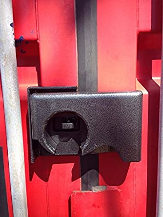 Shipping Container Puck Lock Box Container Security