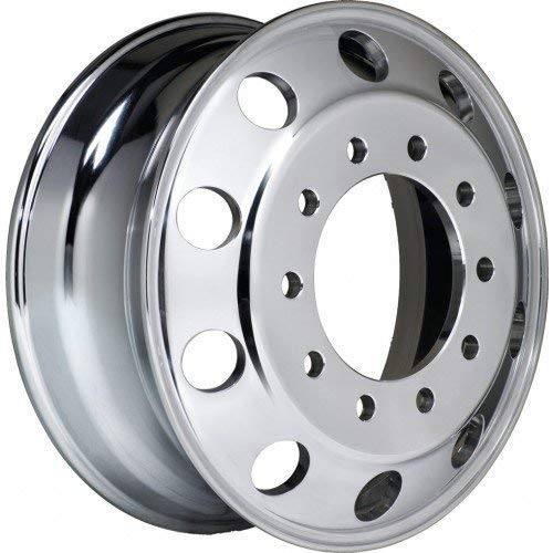 Accuride Enhanced Finish Aluminum 24.5'' x 8.25'' Wheel (41362ANP) Peterbilt Kenworth - TRP Brand by Accuride