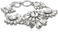 "Carolee LUX ""Haute Hollywood"" Floral Link Bracelet, 8"" by Carolee LUX"