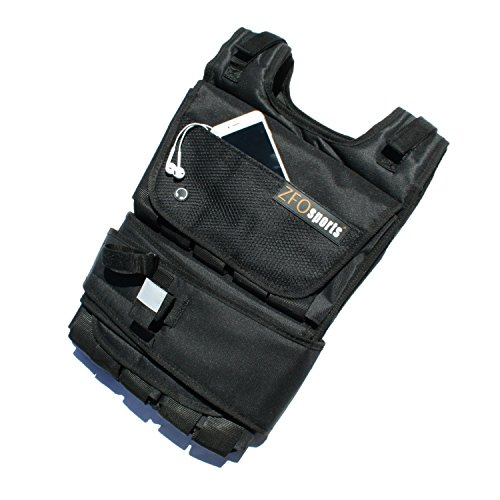ZFOsports® 80LBS ADJUSTABLE WEIGHTED VEST