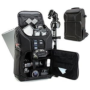 Accessory Power USA GEAR S15, Zaino per fotocamera professionale con copertura antipioggia e stoccaggio personalizzabile, Nero 1 spesavip
