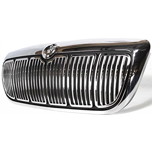- Diften 104-C2083-X01 - New Grille Assembly Grill Chrome Mercury Grand Marquis 2002 FO1200353 F8MZ8200AA