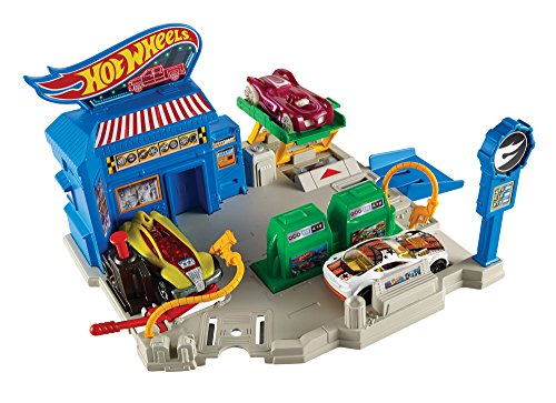 Hot Wheels City Roadside Repair Playset
