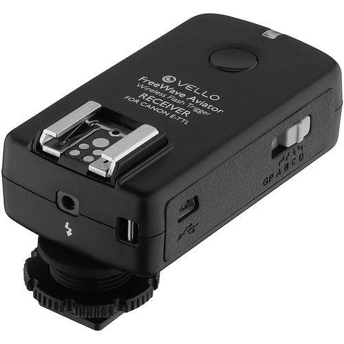 Vello FreeWave Aviator Wireless TTL Receiver for Canon E-TTL / E-TTL II Flashes(3 Pack) by Vello