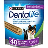 DentaLife Daily Oral Care Small & Medium Breed Dental Dog Treats - 40 ct Pouch
