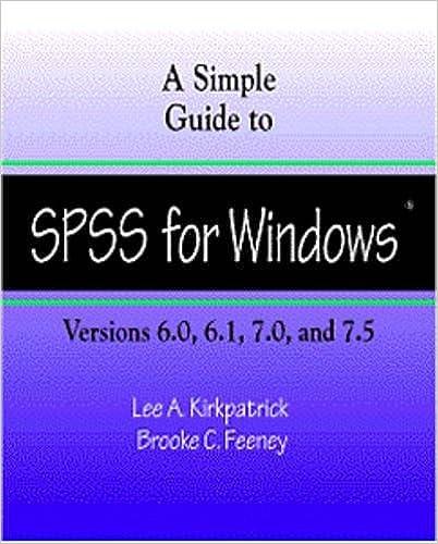 Guia del usuario del sistema base spss 7. 5 para windows. $ 100.