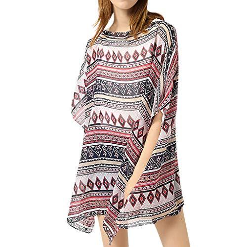 Terry Cloth Cover Halter (JESPER Women's Bathing Suit Cover Up Beach Bikini Swimsuit Swimwear Crochet Dress Coffee)