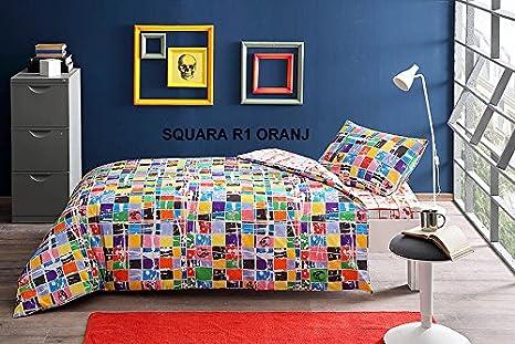 Wellstil graffiti% 100 cotone piumino di set di biancheria per letto