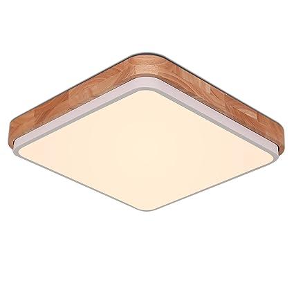 Aikars 16 Inch Flush Mount LED Ceiling Light 2700K Warm White ...