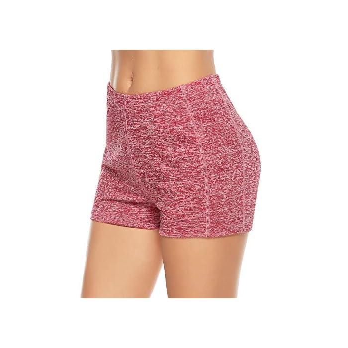 517fW9qdtiL ✔ 2 piezas Pantalones cortos: cinturilla elástica, súper suave y elástica, te mantiene fresco y cómodo. ✔ Tela: tela de secado rápido para comodidad durante todo el día y se siente muy bien en la piel 93% Poliéster, 7% Elastano