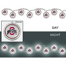 Team Sports America Ohio State University Outdoor Safe Battery Powered String Light Set