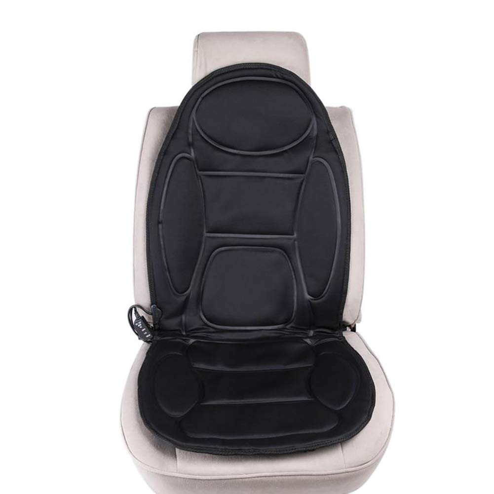 FJW Car Seat Heating Pad 12V Constant Temperature Protection Winter Warmer Cover Massage Pad Heated Seat Cushion Relieving Back and Leg Pressure