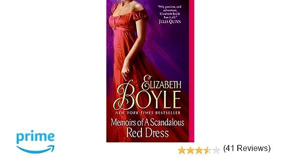Memoirs of a scandalous red dress