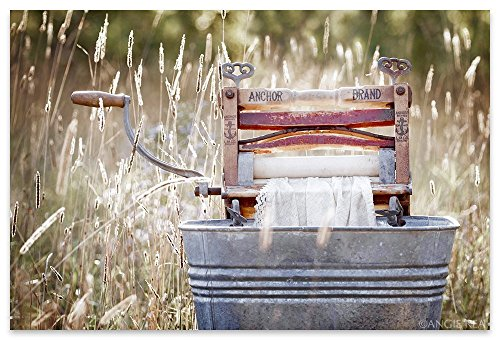 Antique Wringer Washer Laundry Room Decor, Americana Fine Art Photography Print, Laundry Room Art