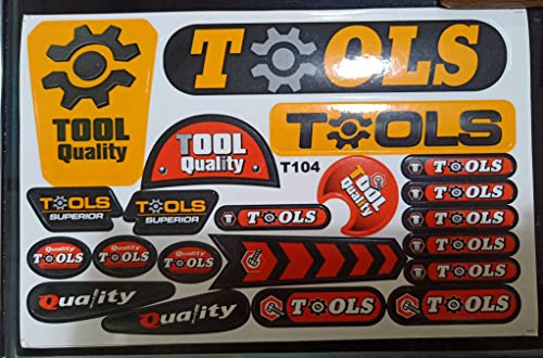 Young Chois Toy Workbench Series Stickers for Kids