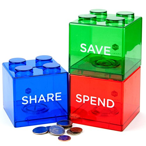Save Spend Share Piggy Bank