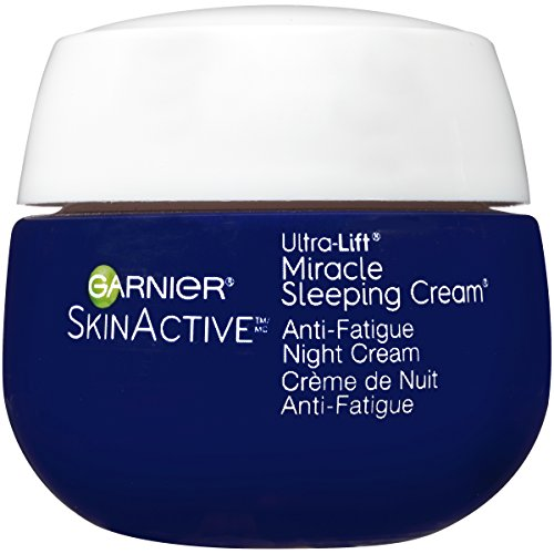 Garnier SkinActive Miracle Anti-Fatigue Night Cream,  1.7 oz (Packaging May Vary)
