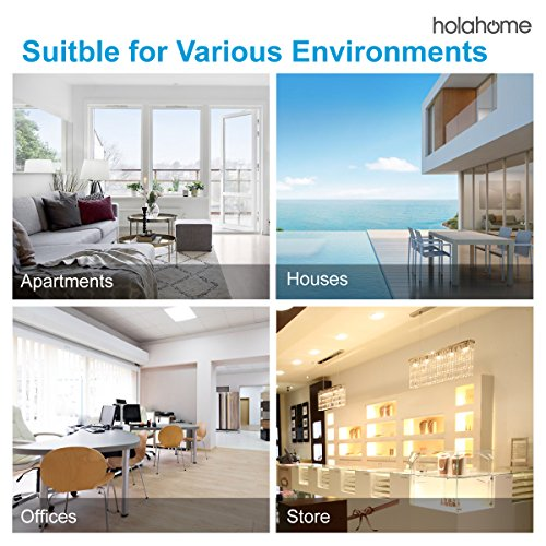 Holahome Wireless Doorbell - Waterproof Portable Door Bell Chime Kit Push Button with 2 Portable Receivers 32 Melodies Wireless Door Alarm Chime Long Range Battery Operated for Home Office White by holahome (Image #7)