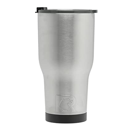 fed1a69aa30 Amazon.com | RTIC (191) Double Wall Vacuum Insulated Tumbler, 30 oz,  Stainless Steel: Tumblers & Water Glasses