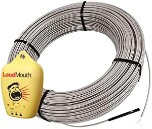 Schluter Ditra Heat Radiant Floor Heating Cable with Electrical Fault Indicator - 83 Square Feet 120 Volt