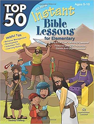 Top 50 Instant Bible Lessons for Elementary: RoseKidz