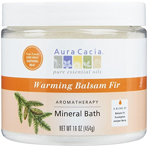 (Aura Cacia Aromatherapy Mineral Baths - Soothing Heat - 16 oz)