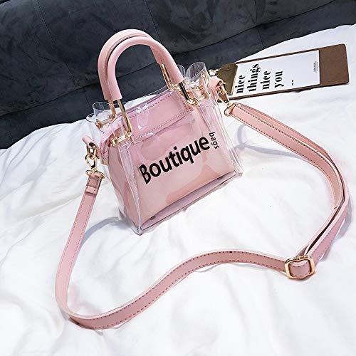WSLMHH Messenger Portable Rose Transparent Bag d'été marée Sac Sac Sauvage épaule Petit Femme pxT6prnqgw