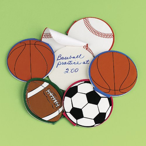 Sport Ball Notepads (2 dz) by Fun Express (Themes For Balls)