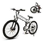 517fYgoY1GL. SS150 SAMEBIKE Biciclette elettriche da 26 Pollici con Pneumatico Pieghevole Biciclette elettriche da Montagna 48V 500W per Adulti