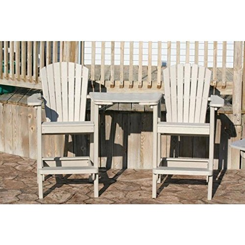 Adirondack Bar - Perfect Choice Outdoor Furniture Adirondack Bar Height Chair - Shown accessories sold separately