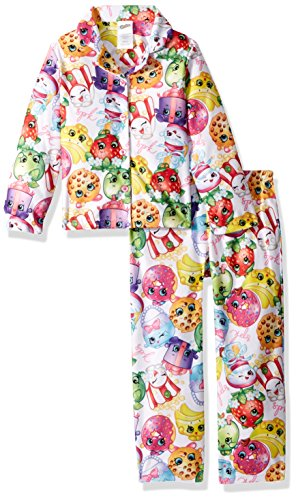Shopkins Conjunto de Pijama de 2 Piezas para niñas Shopkins, Shopkin Mashup, 10