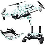 MightySkins Skin For DJI Max Coverage - Teal Designer | Protective, Durable, and Unique Vinyl Decal wrap cover | Easy To Apply, Remove, and Change Styles | Made in the USA