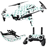 MightySkins Skin for DJI Mavic Air Drone - Teal Designer | Max Combo Protective, Durable, and Unique Vinyl Decal wrap cover | Easy To Apply, Remove, and Change Styles | Made in the USA