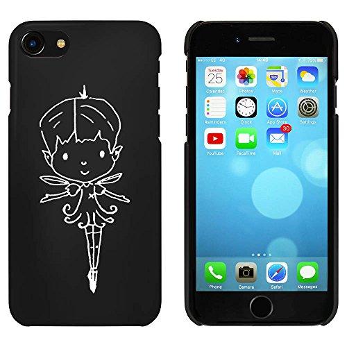 Noir 'Fée Mignon' étui / housse pour iPhone 7 (MC00071865)