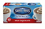 Swiss Miss Hot Cocoa Mix, Milk Chocolate, 43.8 Ounce ,60 count,8-Pack