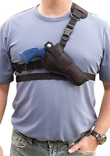 Silverhorse Holsters Chest/Shoulder Gun Holster | Fits Smith & Wesson 460, 500 X Frame Revolvers with a 3.5