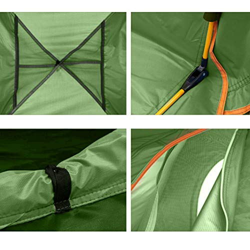 YC Outdoor Instant 4-Person pop-up Camping Tent – Simple, Automatic Setting – Ideal for Leisure Family Camping Hiking
