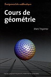 Cours de géométrie par Marc Troyanov