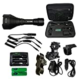 Elusive Wildlife Kill Light XLR 750HD Zoom Focus Hunting Light Package – GREEN